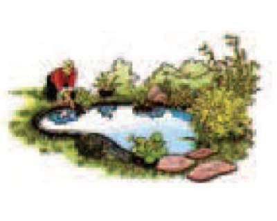 Telo per laghetto stagno liner pvc id 138803 for Teli laghetto giardino