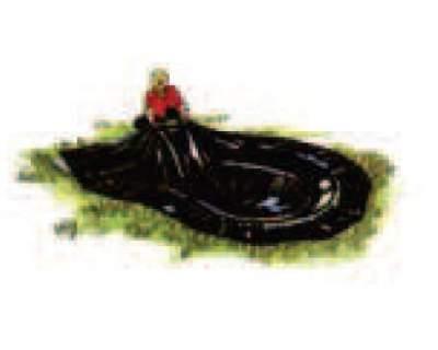 Telo per laghetto stagno liner pvc id 138803 for Teli laghetto