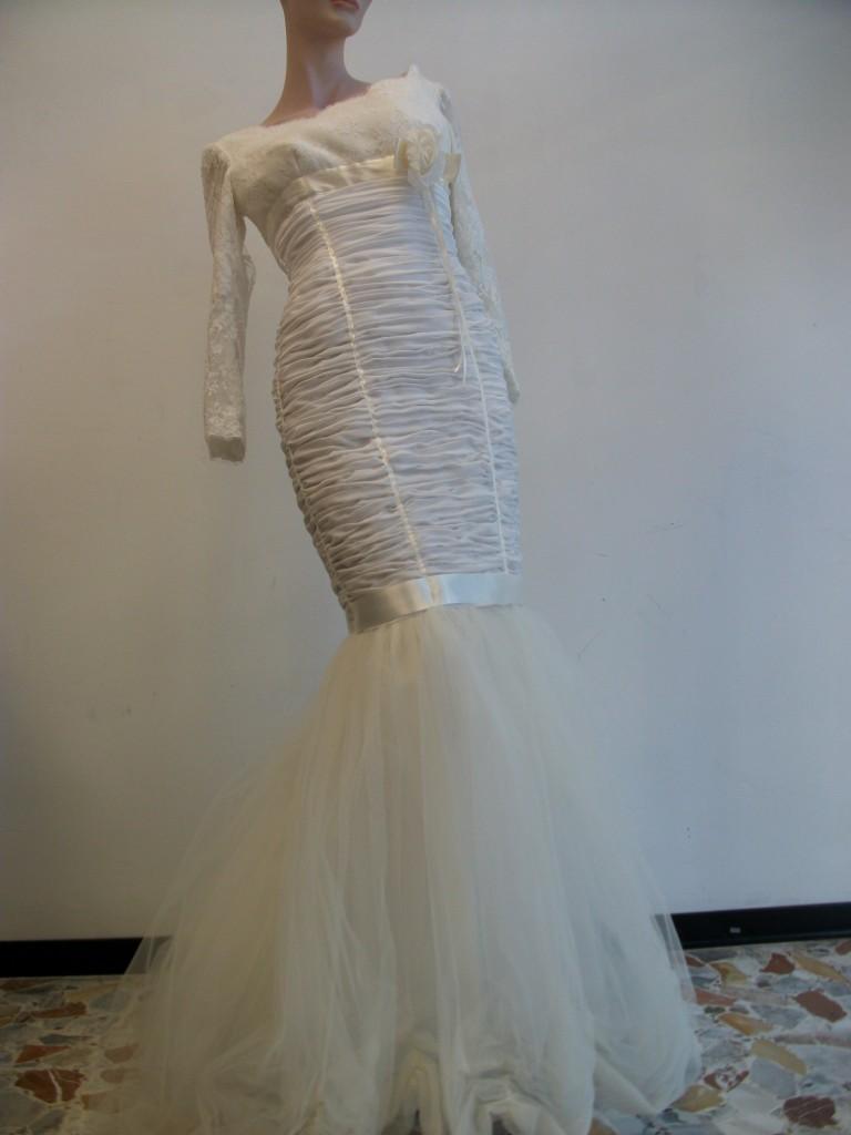 075a1cde361e Vendo abito da sposa usato in una ID 147073 - dbAnnunci.it