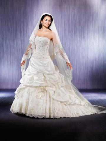 09a701d0c9ad Vendo abito sposa nuovo d avino ID 152410 - dbAnnunci.it