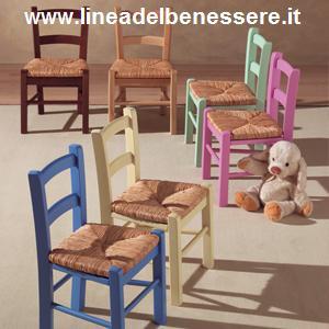 Sedie In Legno E Paglia Per Bambini Id 156117