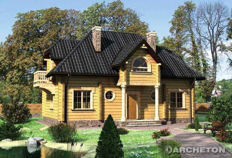 Case ville in legno dalla romania a id 158400 for Costruzione di case americane