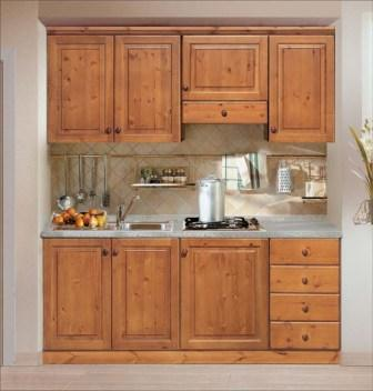 Pensili da cucina in legno massello ID 167523 - dbAnnunci.it