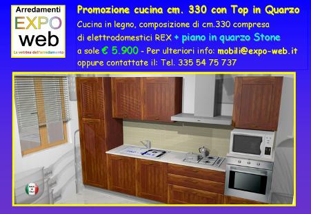 Offerta cucina in arte povera con piano ID 169918 - dbAnnunci.it