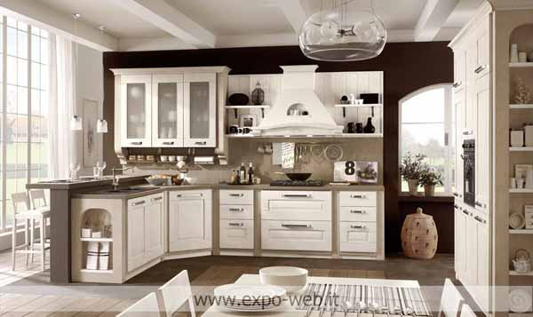 Stosa cucine classiche modello aida - da ID 175594 - dbAnnunci.it
