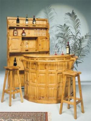 Mobile bar con portabicchieri e 4 id 179963 for Mobile angolo bar