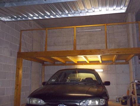 Sistemazione garage id 183683 for 2 piani di garage per auto con soppalco