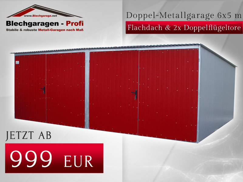 Garage box per due auto 6x5m id 190396 for Due box auto