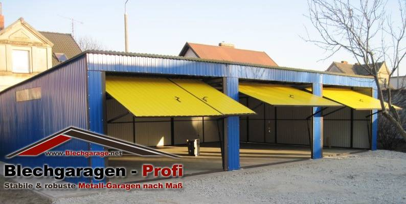 Garage box per due auto 7x7 m id 190403 for Due box auto