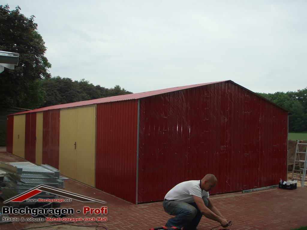 garage box per due auto 7x7 m id 190403