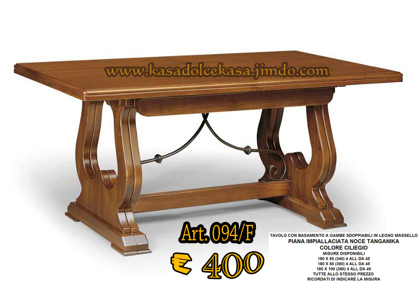 Tavoli in legno massello arte povera id 190760 - Tavoli in arte povera allungabili ...