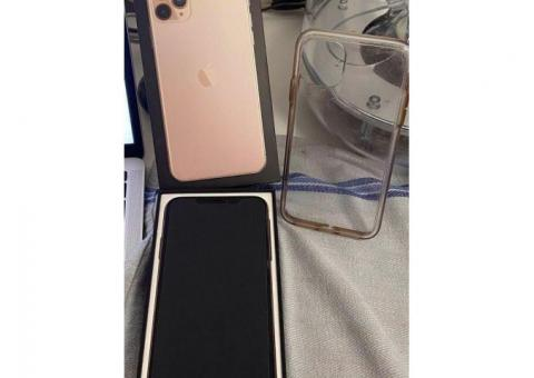 iPhone 11 pro Max Gold color con 256 GB