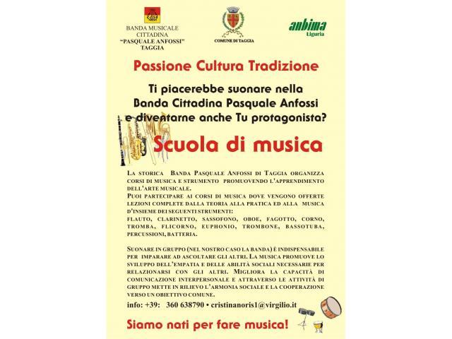 TAGGIA Banda Musicale Pasquale Anfossi di  Corsi di Strumento - 1/7