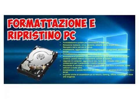 Computer Pc Fisso e Portatile