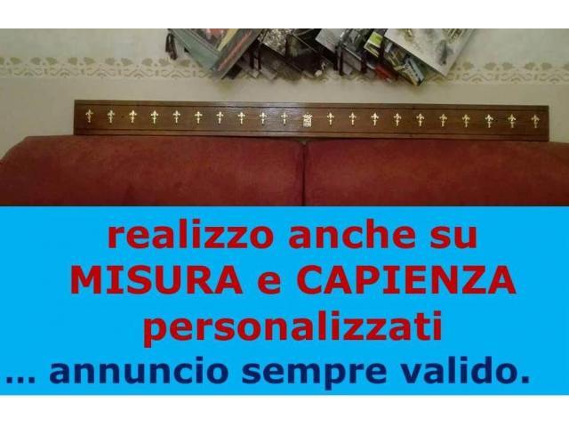 MARINA MILITARE Porta CALENDARIO IDEA REGALO LEGNO MASSELLO ARALDICO METALLO ITALIA - 3/8