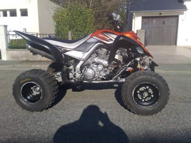 quad yamaha raptor 700 - 1/1