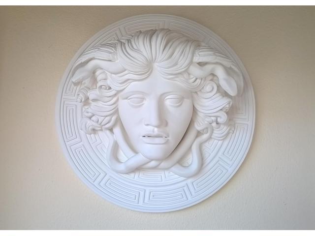 Medusa scultura greca di diametro 60 cm - 2/10