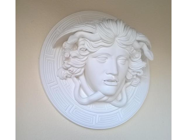 Medusa scultura greca di diametro 60 cm - 4/10