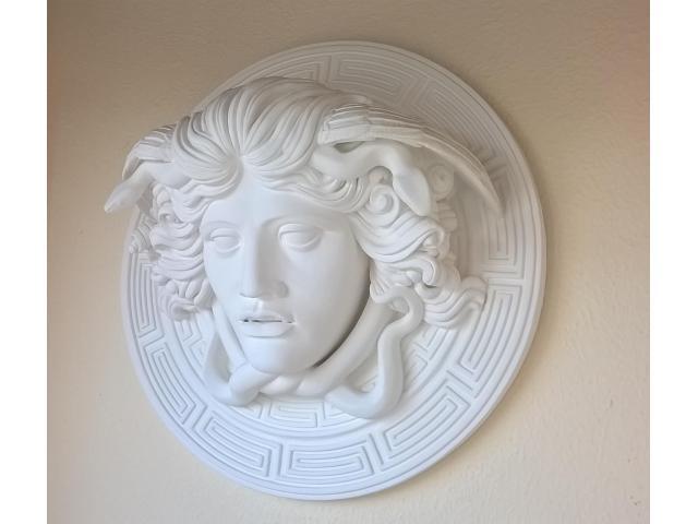 Medusa scultura greca di diametro 60 cm - 5/10