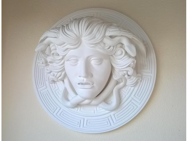 Medusa scultura greca di diametro 60 cm - 6/10