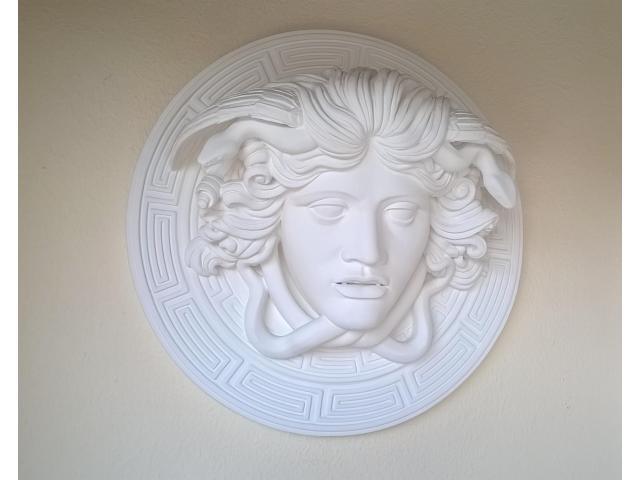 Medusa scultura greca di diametro 60 cm - 7/10
