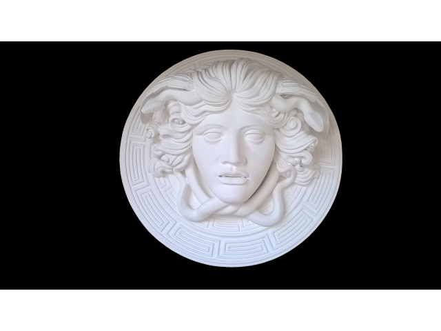 Medusa scultura greca di diametro 60 cm - 8/10