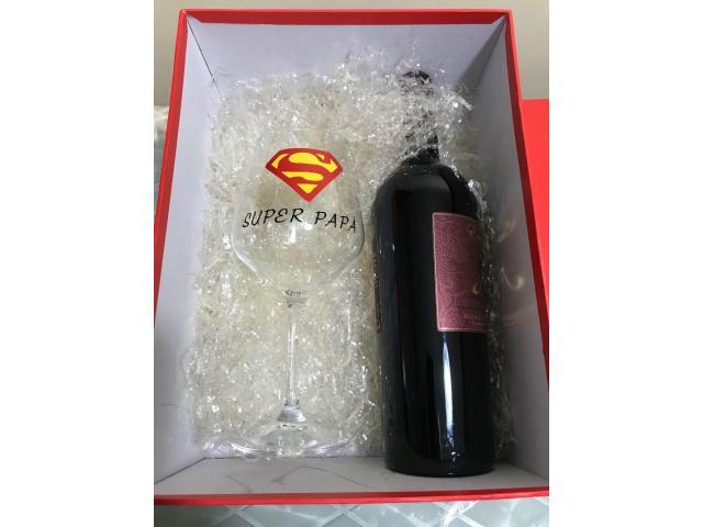 Calice vino Super Papà - 2/2