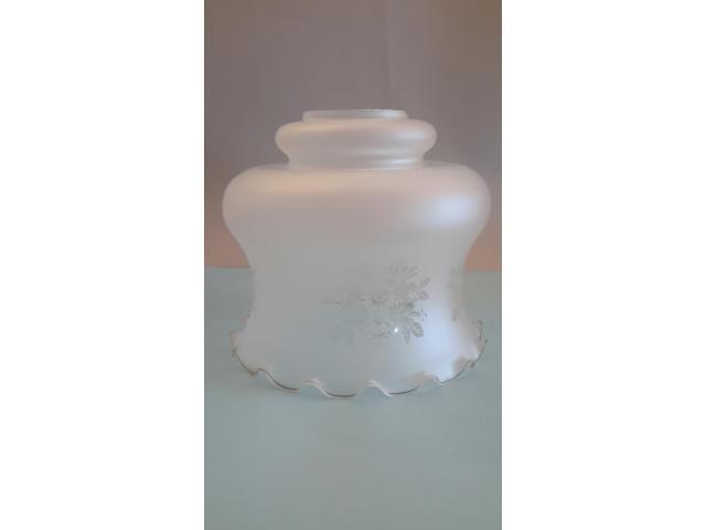 Grande LAMPADARIO in vetro opalino - 4/10