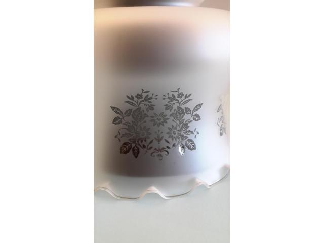 Grande LAMPADARIO in vetro opalino - 7/10