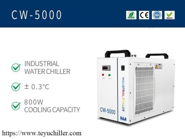 Piccolo refrigeratore d'acqua CW5000 per taglierina con incisione laser CO2 - 2/2