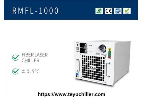Refrigeratore per montaggio su rack raffreddato ad aria per saldatrice laser portatile