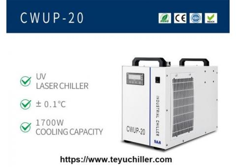 Refrigeratore d'acqua laser ultraveloce CWUP-20