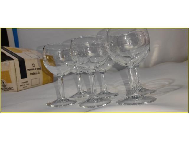 Bicchieri Cristallo Calici 19,5 cl - 4/9