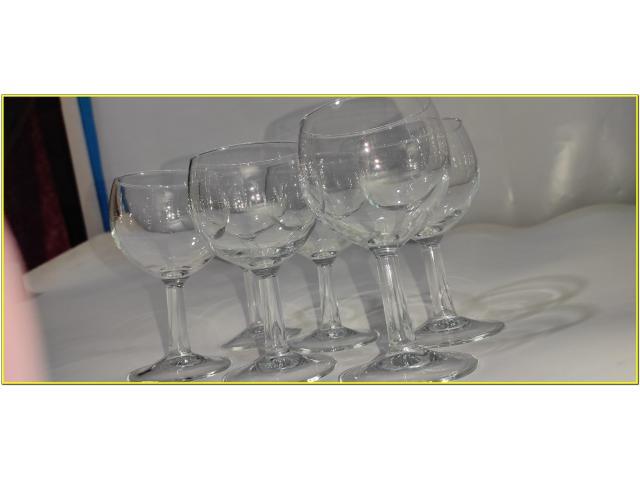 Bicchieri Cristallo Calici 19,5 cl - 5/9