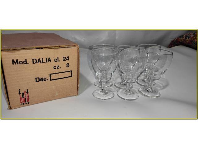 Bicchieri Cristallo Calici 24 cl - 6/8