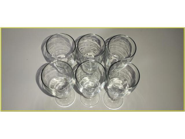 Bicchieri Cristallo Calici Flute Flut Da Champagne Spumante 17 cl - 2/6