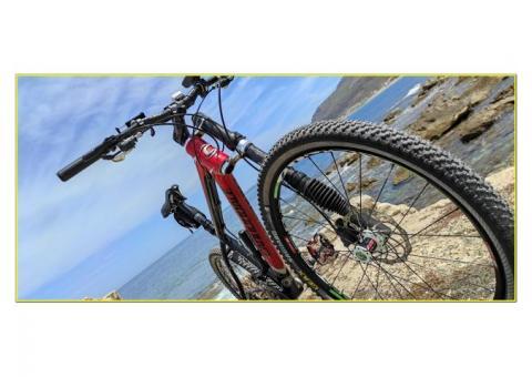 Bicicletta Cannondale Taurine MTB 26 Total Carbon Dischi Magura