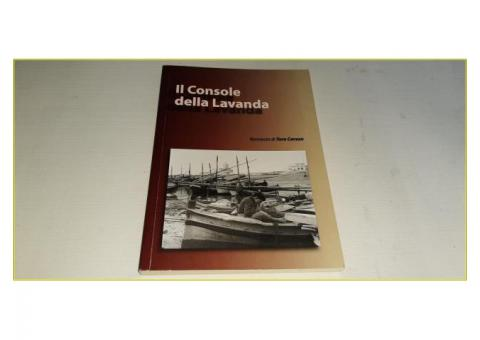 Libro Romanzo La Console della Lavanda di Tore Caruso