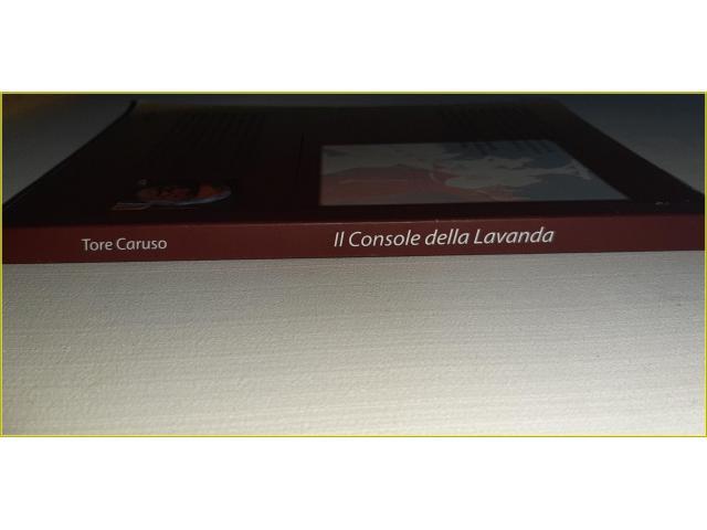 Libro Romanzo La Console della Lavanda di Tore Caruso - 3/4