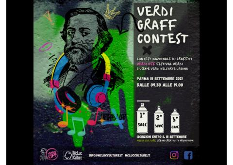 Verdi Graff Contest: Contest di graffiti. 1000€ di premi