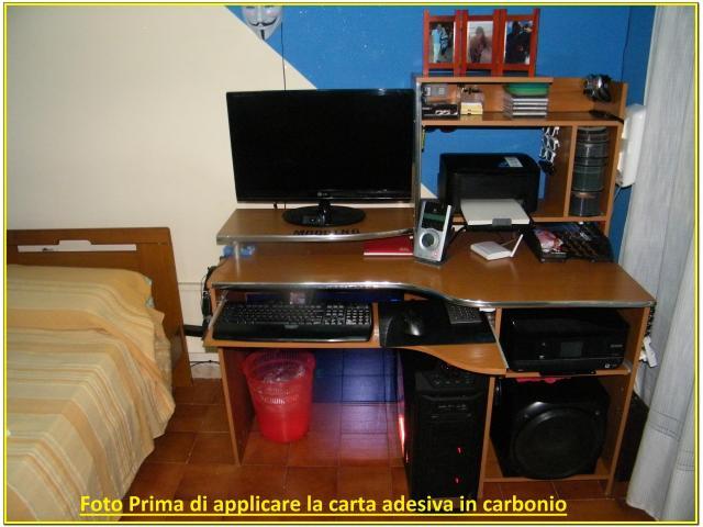 Scrivania Per Pc da Gaming Carbonio - 4/5