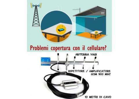 Ripete e amplifica il segnale per il telefono cellulare