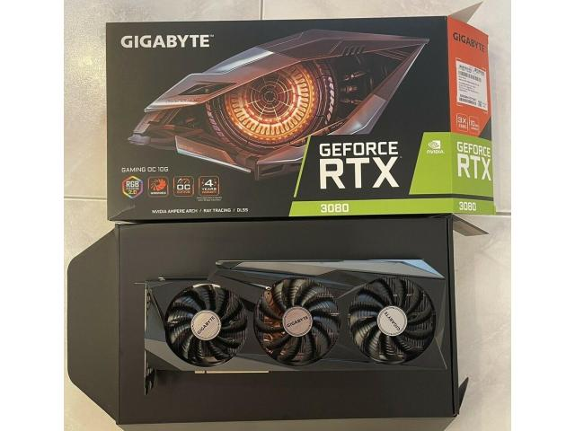 GEFORCE RTX 3090/RTX 3080/ RTX 3080 Ti/ RTX 3070/RTX 3060 Ti / RTX 3060/RADEON RX 6900 XT / Radeon R - 3/9